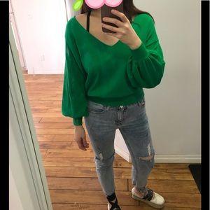 [SEASONAL SALE‼️] gorgeous light green top